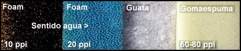 Materiales filtrantes mecánicos